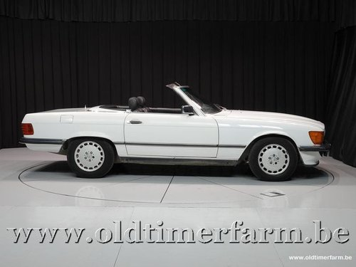 1989 Mercedes-Benz 300SL R107 White '89 '3424' For Sale (picture 3 of 6)