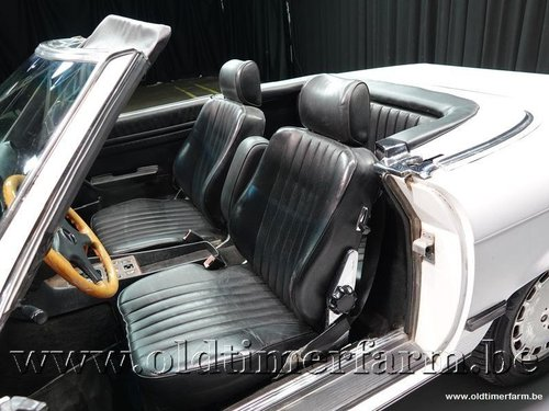 1989 Mercedes-Benz 300SL R107 White '89 '3424' For Sale (picture 4 of 6)