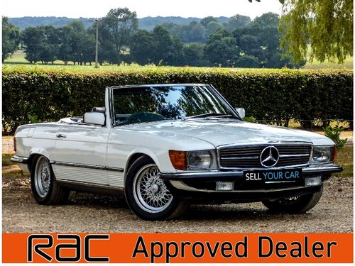 1984 500 SL Auto 5.0 2dr Convertible Petrol For Sale (picture 1 of 6)