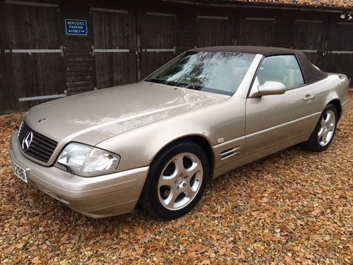 1999 Mercedes SL 320 ( 129-series ) For Sale (picture 1 of 6)