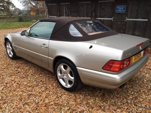 1999 Mercedes SL 320 ( 129-series ) For Sale (picture 3 of 6)