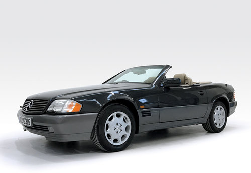 1995 Mercedes SL320 SOLD (picture 1 of 6)