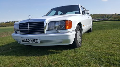 Mercedes 420SEL W126 1986 For Sale (picture 1 of 6)