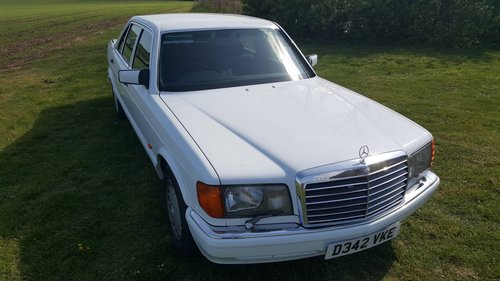 Mercedes 420SEL W126 1986 For Sale (picture 2 of 6)
