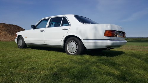 Mercedes 420SEL W126 1986 For Sale (picture 3 of 6)