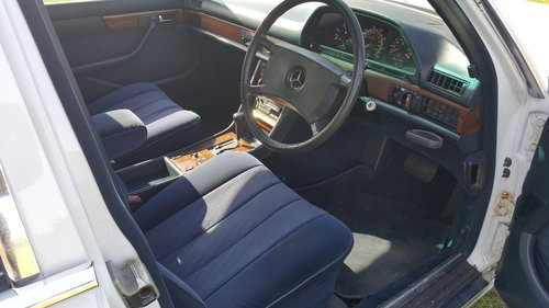 Mercedes 420SEL W126 1986 For Sale (picture 5 of 6)