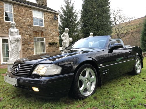 1998 ICONIC MERCEDES BENZ SL500 R129 FACELIFT MODEL not sl320 sl2 For Sale (picture 1 of 6)
