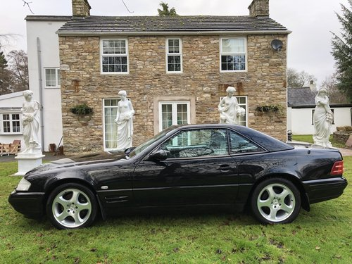 1998 ICONIC MERCEDES BENZ SL500 R129 FACELIFT MODEL not sl320 sl2 For Sale (picture 2 of 6)