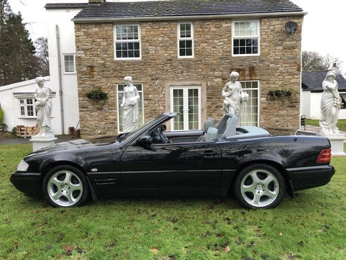 1998 ICONIC MERCEDES BENZ SL500 R129 FACELIFT MODEL not sl320 sl2 For Sale (picture 3 of 6)