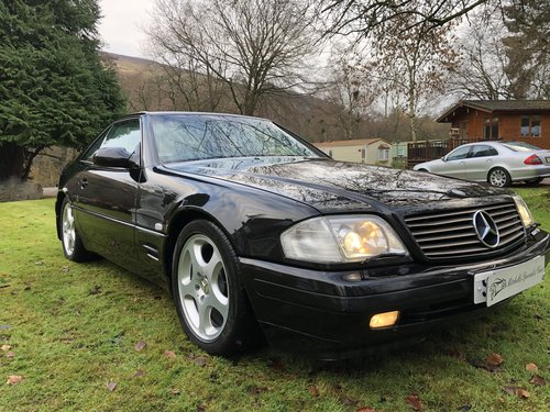 1998 ICONIC MERCEDES BENZ SL500 R129 FACELIFT MODEL not sl320 sl2 For Sale (picture 4 of 6)