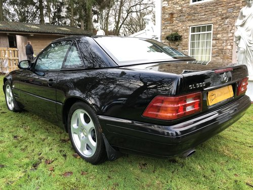 1998 ICONIC MERCEDES BENZ SL500 R129 FACELIFT MODEL not sl320 sl2 For Sale (picture 5 of 6)