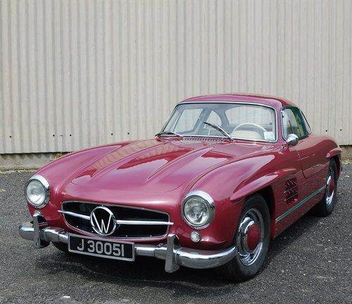 1989 300SL Gullwing 'Evocation' Ostermeir For Sale