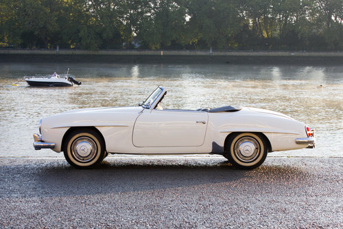 1957 Mercedes-Benz 190SL - Stunningly Original Car! For Sale (picture 3 of 6)