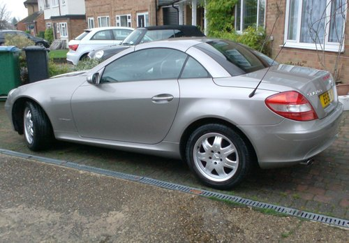 2005 MERCEDES BENZ 1.8 SLK 200 SOLD (picture 3 of 6)