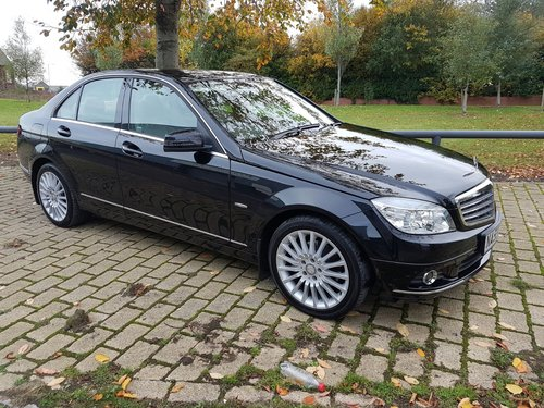 2009  MERCEDES C220 CDI ELEGANCE – 2 LADY OWNERS – 64000 MILES  SOLD (picture 1 of 5)