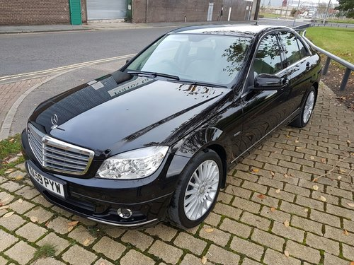 2009  MERCEDES C220 CDI ELEGANCE – 2 LADY OWNERS – 64000 MILES  SOLD (picture 2 of 5)
