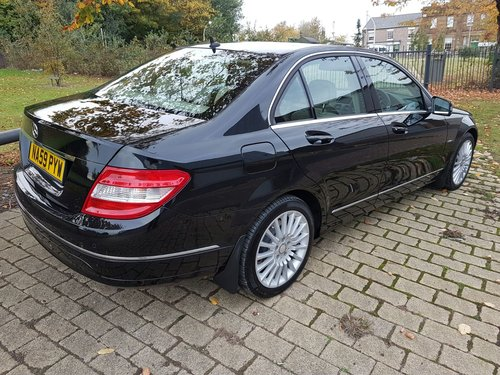 2009  MERCEDES C220 CDI ELEGANCE – 2 LADY OWNERS – 64000 MILES  SOLD (picture 3 of 5)