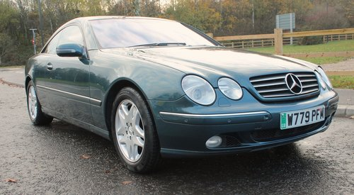2000 Mercedes Benz CL500 V8 Coupe  68,000 miles with FSH  SOLD (picture 1 of 6)
