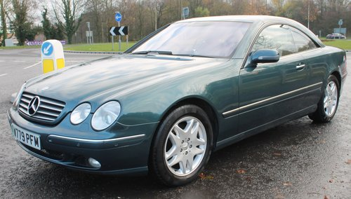 2000 Mercedes Benz CL500 V8 Coupe  68,000 miles with FSH  SOLD (picture 2 of 6)