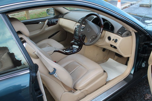 2000 Mercedes Benz CL500 V8 Coupe  68,000 miles with FSH  SOLD (picture 4 of 6)