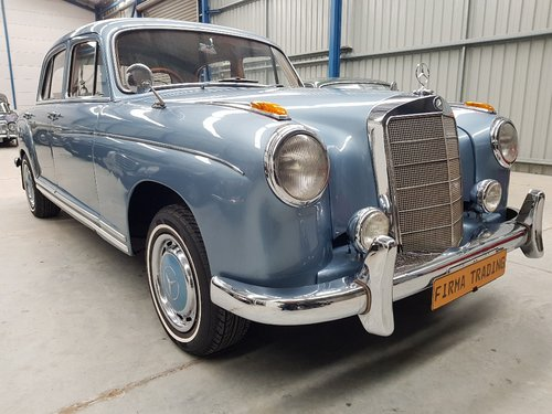 1957 Mercedes Benz 220S Very Nice Condition Firma Trading For Sale (picture 1 of 6)