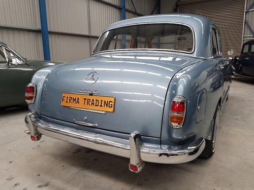 1957 Mercedes Benz 220S Very Nice Condition Firma Trading For Sale (picture 2 of 6)