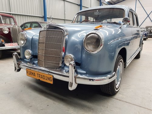 1957 Mercedes Benz 220S Very Nice Condition Firma Trading For Sale (picture 6 of 6)