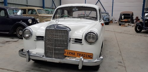 1959 Mercedes Benz 190 Original body No 2 by Firma Australia For Sale (picture 1 of 6)