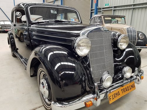 1951 Mercedes Benz 170S Very Nice Condition Firma Trading For Sale (picture 1 of 6)