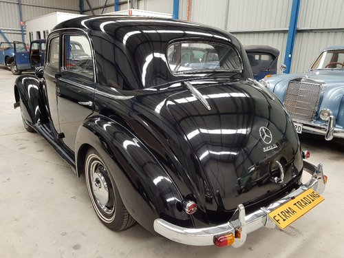 1951 Mercedes Benz 170S Very Nice Condition Firma Trading For Sale (picture 2 of 6)