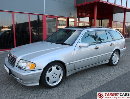 2000 Mercedes C43 T AMG 4.3L 306HP LHD For Sale (picture 1 of 6)