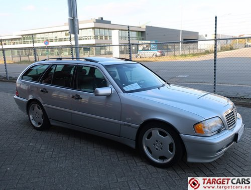 2000 Mercedes C43 T AMG 4.3L 306HP LHD For Sale (picture 2 of 6)