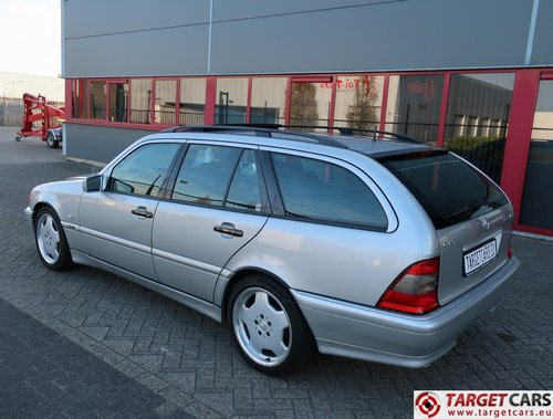 2000 Mercedes C43 T AMG 4.3L 306HP LHD For Sale (picture 4 of 6)