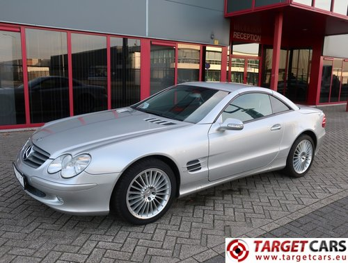 2002 Mercedes SL500 Cabrio 5.0L V8 LHD For Sale (picture 1 of 6)