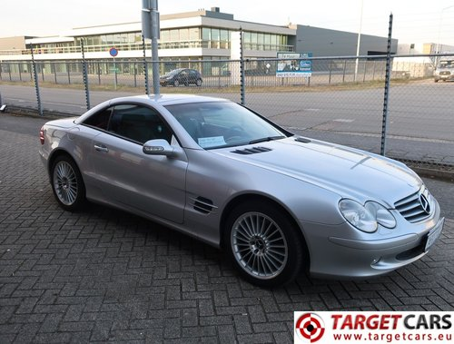 2002 Mercedes SL500 Cabrio 5.0L V8 LHD For Sale (picture 2 of 6)
