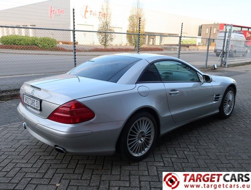 2002 Mercedes SL500 Cabrio 5.0L V8 LHD For Sale (picture 3 of 6)