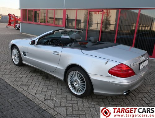 2002 Mercedes SL500 Cabrio 5.0L V8 LHD For Sale (picture 4 of 6)