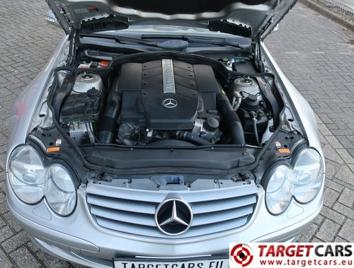 2002 Mercedes SL500 Cabrio 5.0L V8 LHD For Sale (picture 6 of 6)