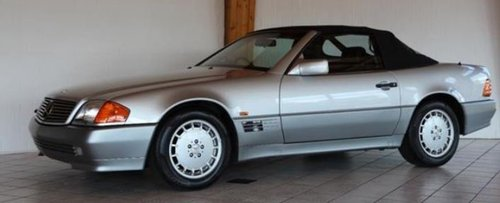 1992 ONE OWNER RHD MERCEDES R129 500SL IN NEW CONDITION - REDUCED For Sale (picture 1 of 6)