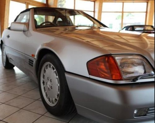 1992 ONE OWNER RHD MERCEDES R129 500SL IN NEW CONDITION - REDUCED For Sale (picture 2 of 6)