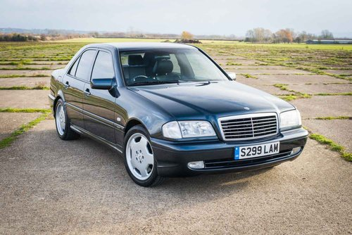 1998 mercedes benz w202 c43 amg fsh 68k immaculate sold car and classic. Black Bedroom Furniture Sets. Home Design Ideas