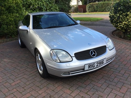 1999 Mercedes SLK230 Kompressor Convertible For Sale (picture 1 of 6)