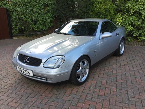 1999 Mercedes SLK230 Kompressor Convertible For Sale (picture 2 of 6)
