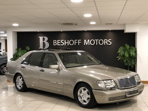 1998 S 600 V12 LONG WHEEL BASE W140..UK CAR//AS NEW!! For Sale (picture 1 of 6)