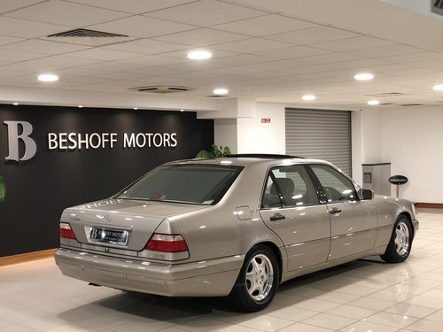 1998 S 600 V12 LONG WHEEL BASE W140..UK CAR//AS NEW!! For Sale (picture 2 of 6)