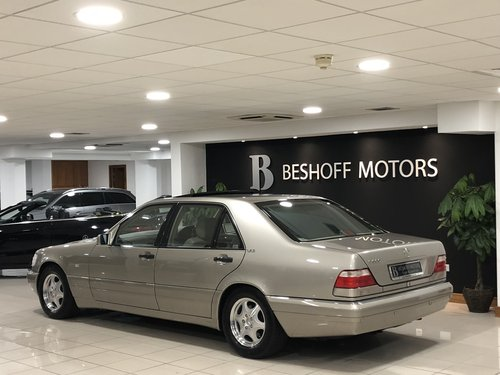 1998 S 600 V12 LONG WHEEL BASE W140..UK CAR//AS NEW!! For Sale (picture 3 of 6)