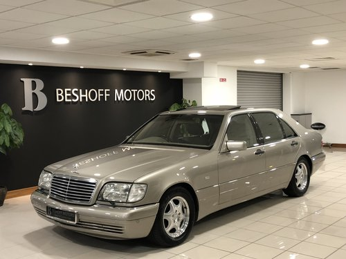1998 S 600 V12 LONG WHEEL BASE W140..UK CAR//AS NEW!! For Sale (picture 4 of 6)