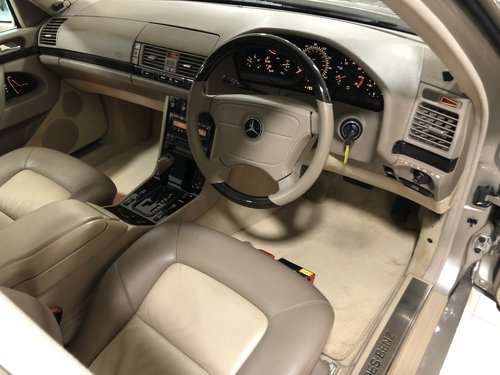 1998 S 600 V12 LONG WHEEL BASE W140..UK CAR//AS NEW!! For Sale (picture 6 of 6)