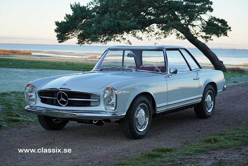 1965 Mercedes 230 SL with 57.000km from new.  For Sale (picture 1 of 6)