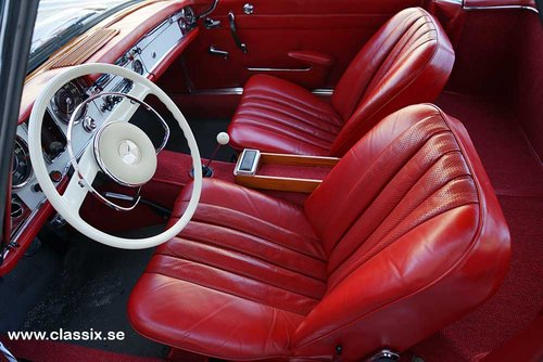 1965 Mercedes 230 SL with 57.000km from new.  For Sale (picture 4 of 6)